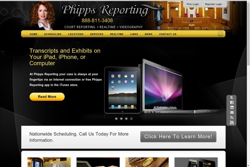 Phipps Reporting Website