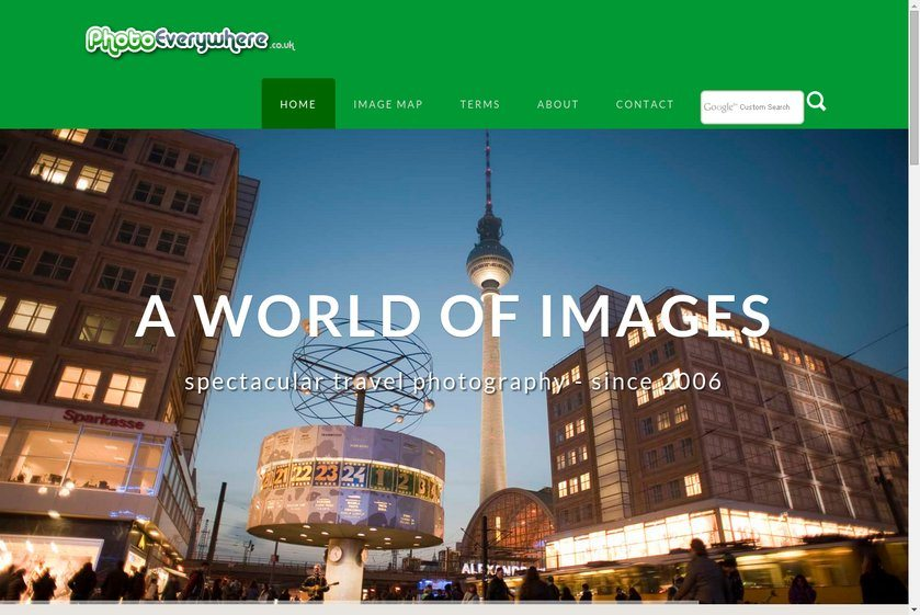 Photo Everywhere Website