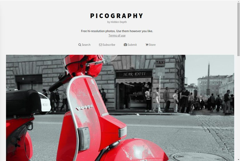 Picography Website