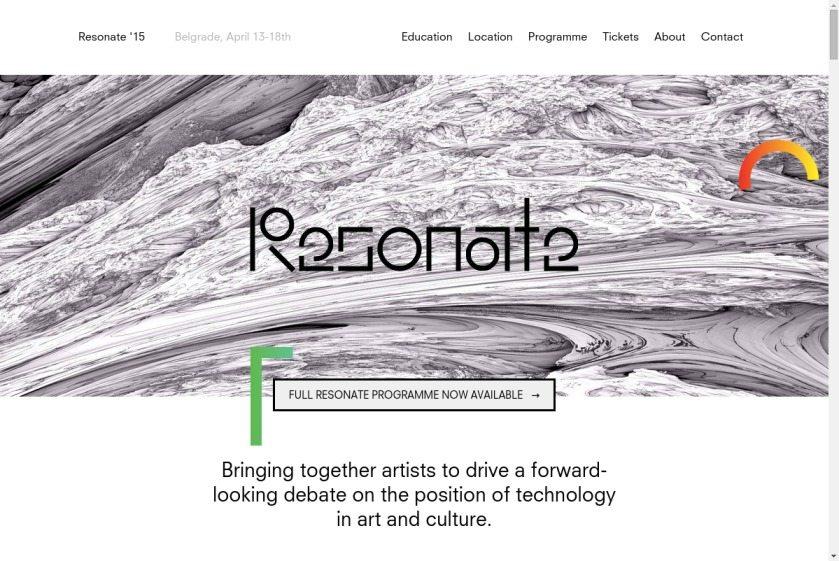 Resonate Website