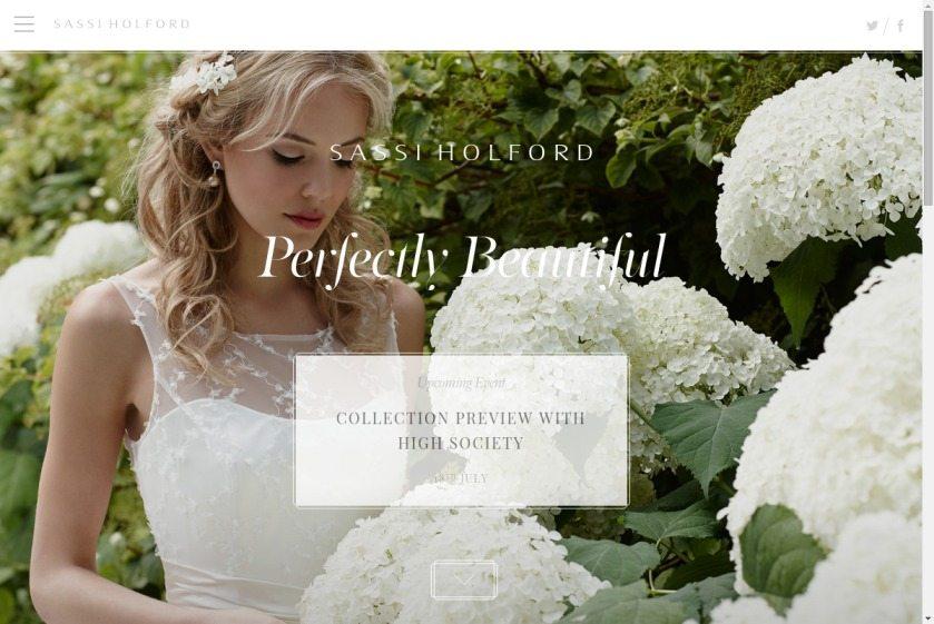 Sassi Holford Website