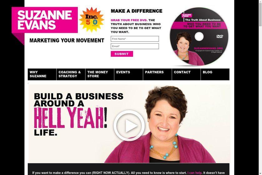 Suzanne Evans Website