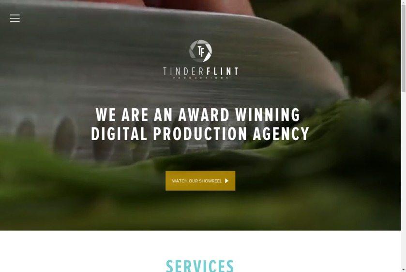 Tinderflint Website