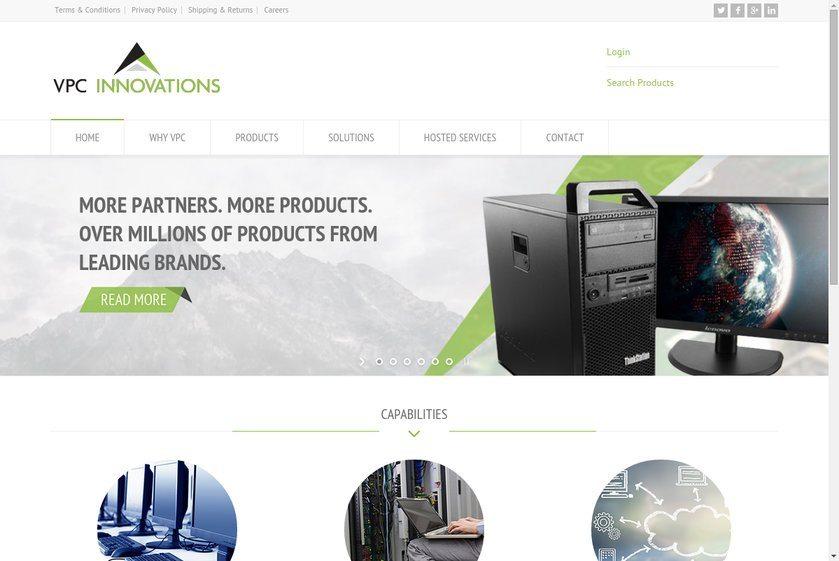 VPCInnovations Website
