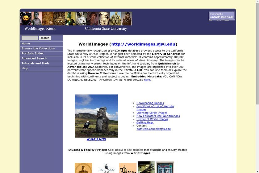 World Images Website