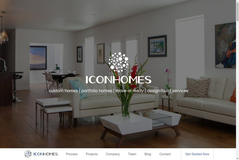 Icon Homes Website