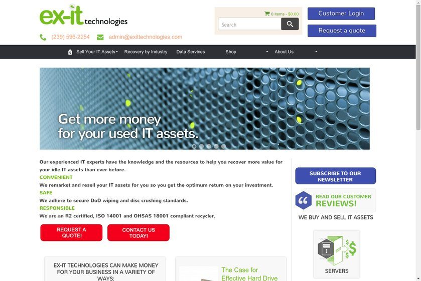 ex-it Technologies Website