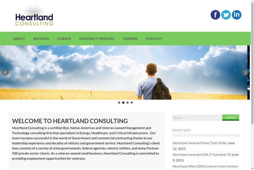 Heartland Energy Partners Website