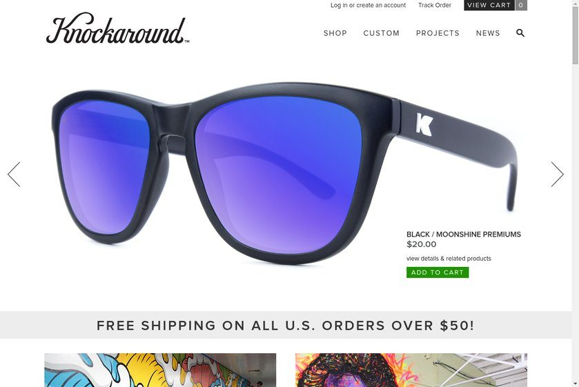 KnockAround Website