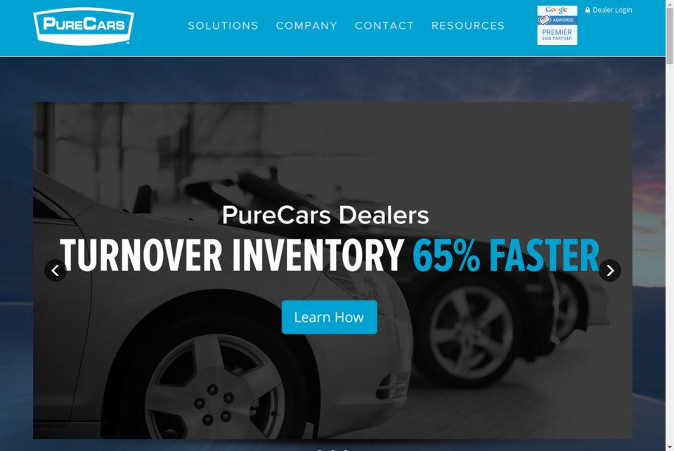 PureCars Dealers Website