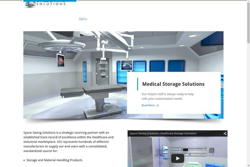 Space Savings Solutions Website