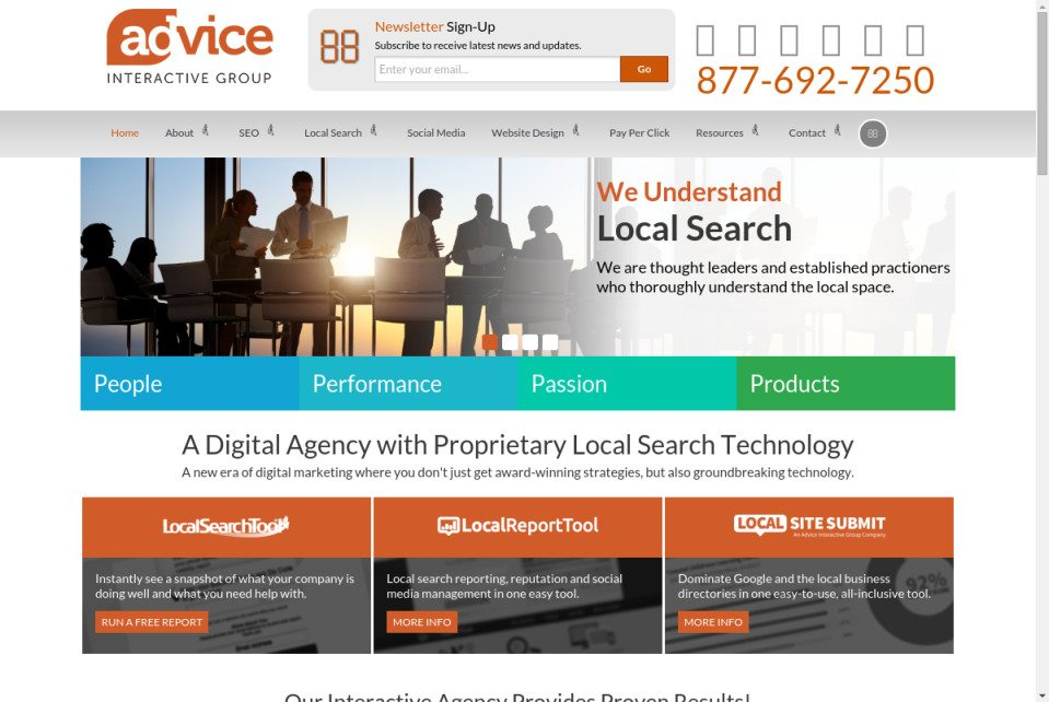 Advice Interactive Group Website
