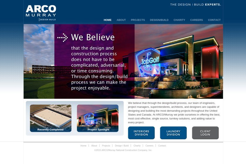 ARCO/Murray National Construction Website