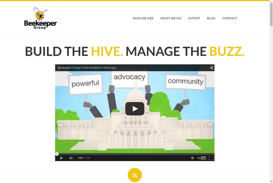 Beekeeper Group Website