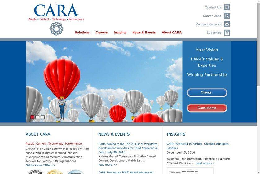 The CARA Group Website