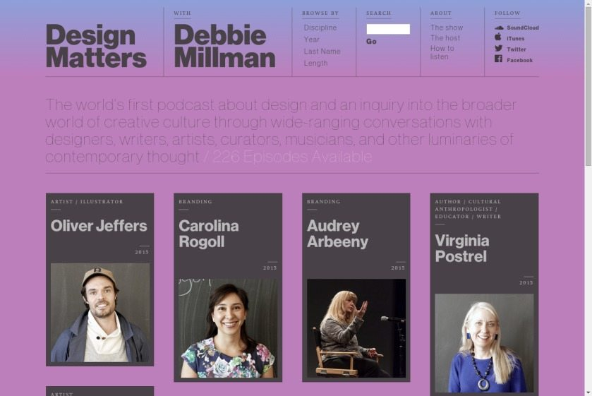 Debbie Millman Website
