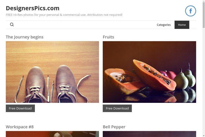Designerspics Website
