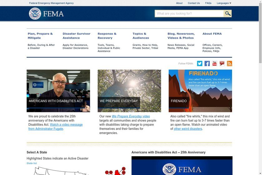 FEMA Website