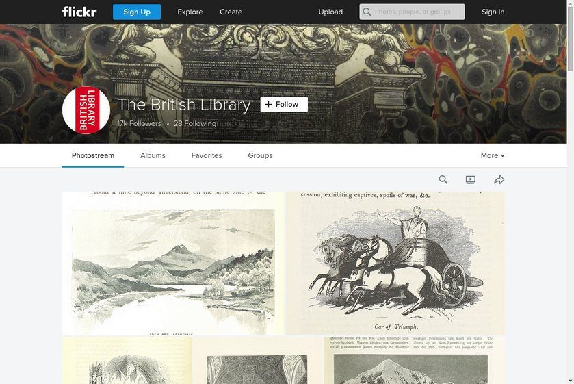 Flickr The British Library Website