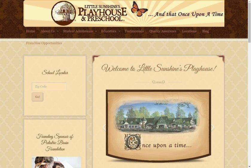Little Sunshine's Playhouse Website
