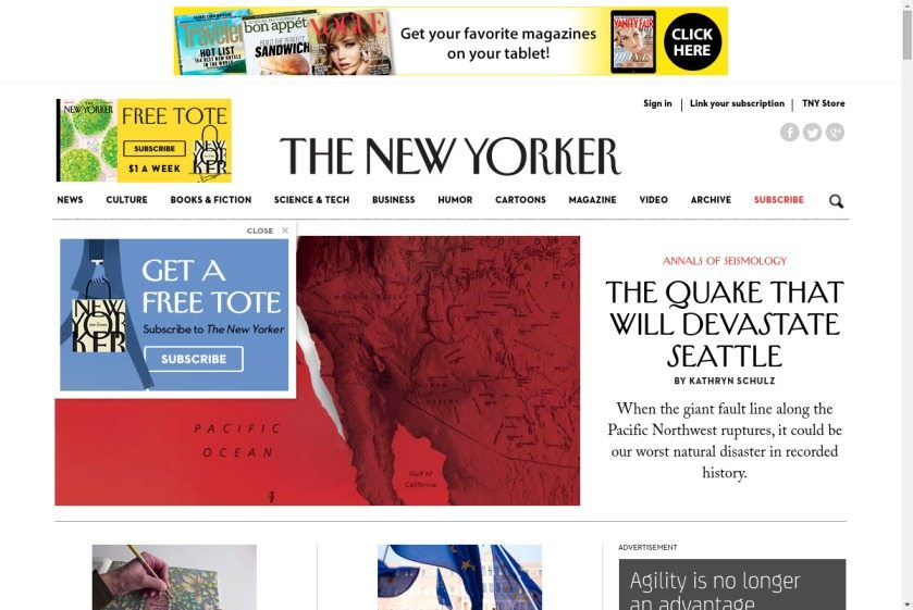 The New Yorker Website