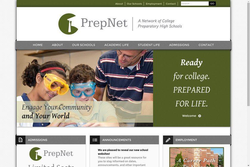 PrepNet Websites