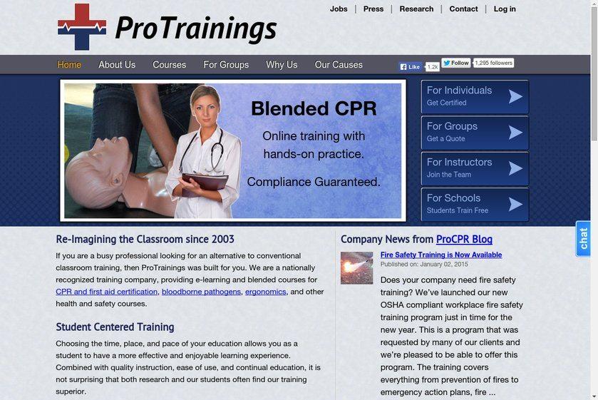 ProCPR Website