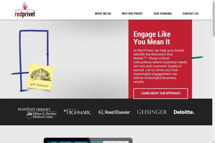 Red Privet Website