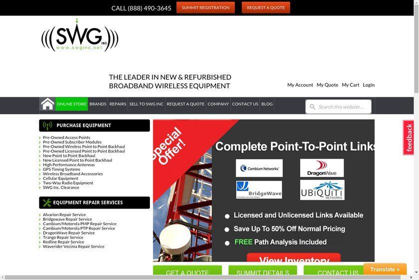SWG Website