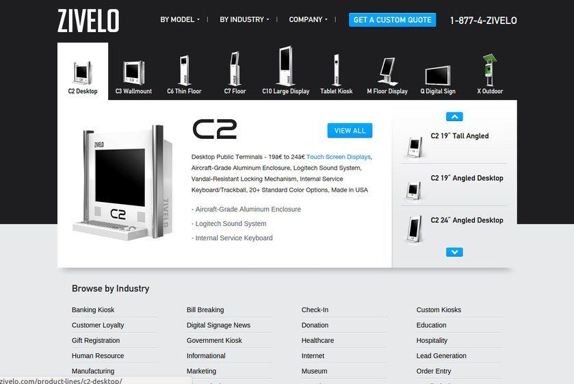 Zivelo Website