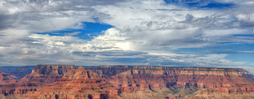Beautiful Clouds over the Grand Canyon