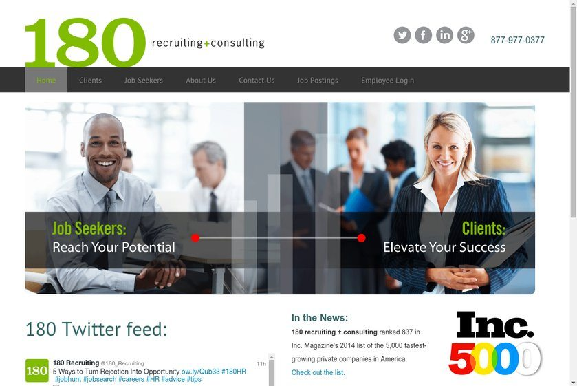 180 Website