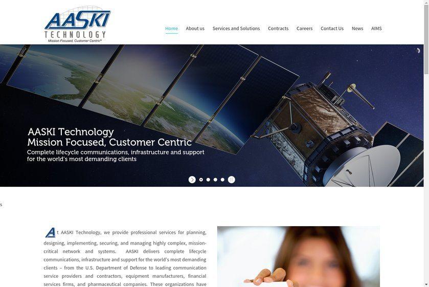 AASKI Technology Website