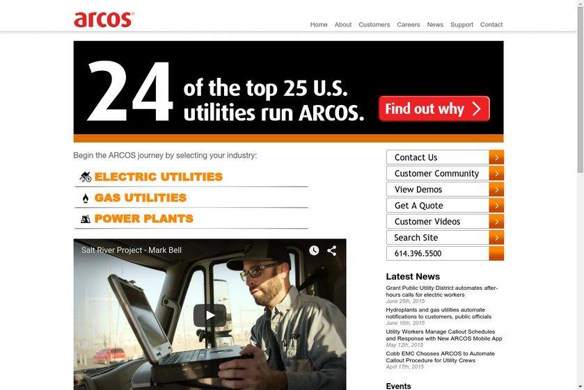 ARCOS Website