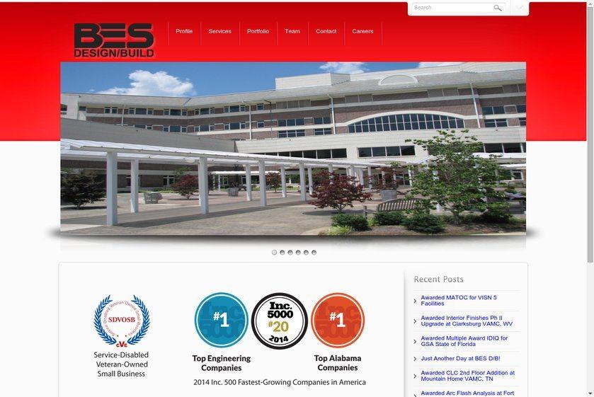 BES Design/Build Website
