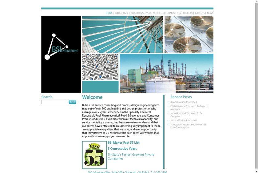 BSI Engineering Website