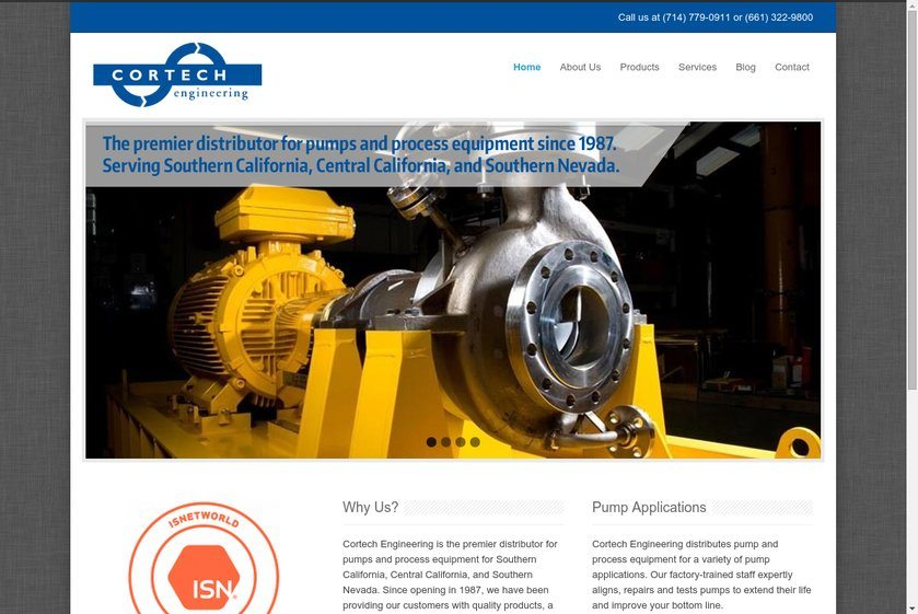 Cortech Engineering Website