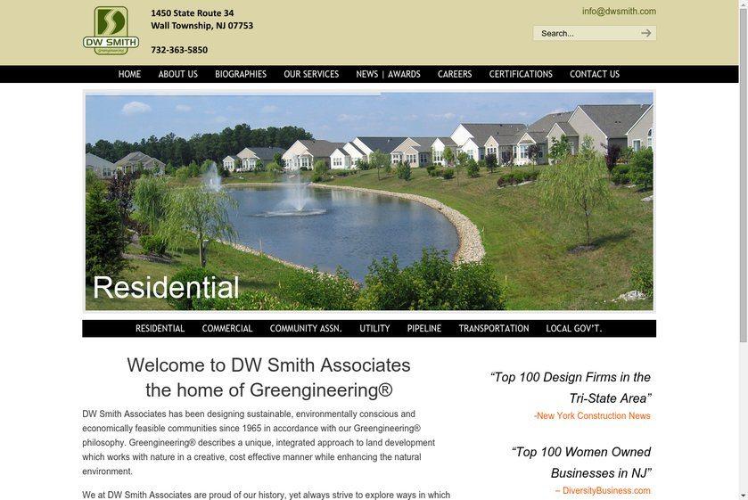 DW Smith Associates Website