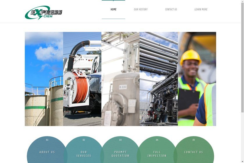 Express Chem Website