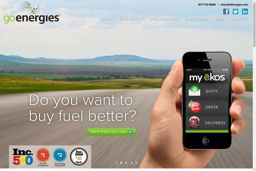 Go Energies Website