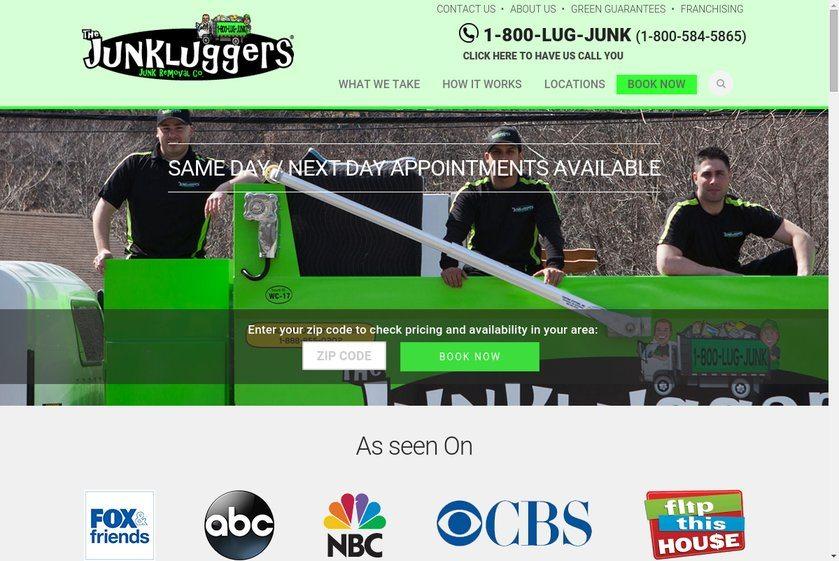 Junkluggers Website