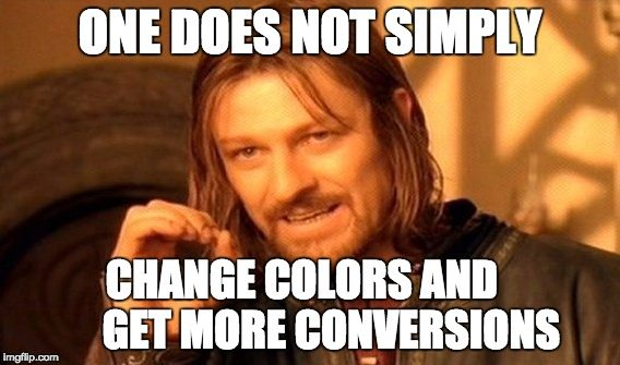 Change colors and get more conversions