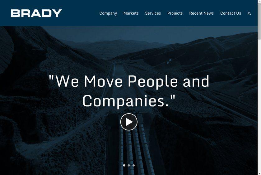 Richard Brady & Associates Website