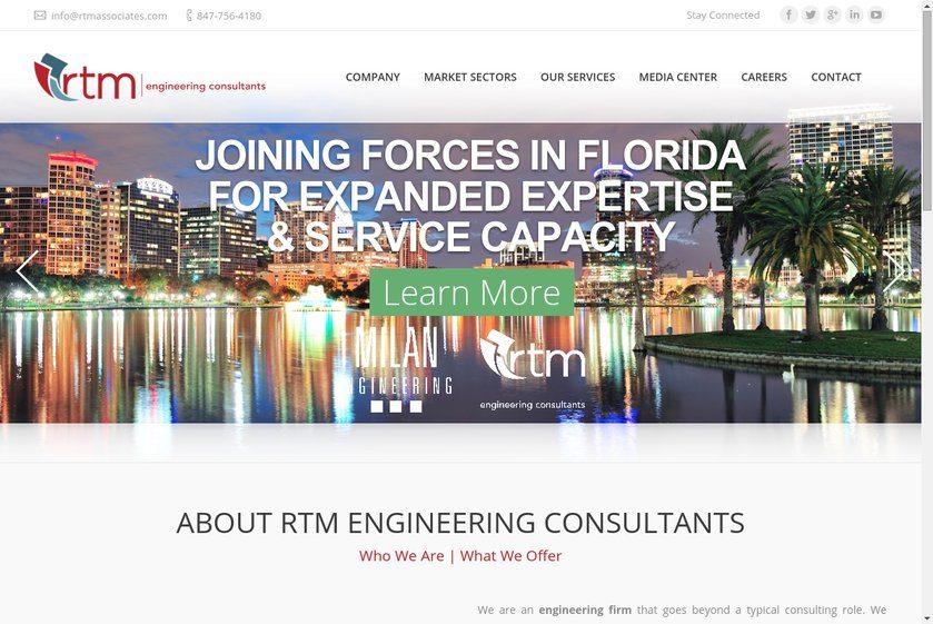 RTM & Associates Website