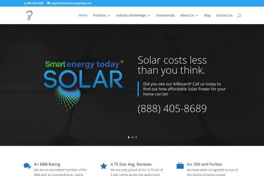 Smart Energy Today Website