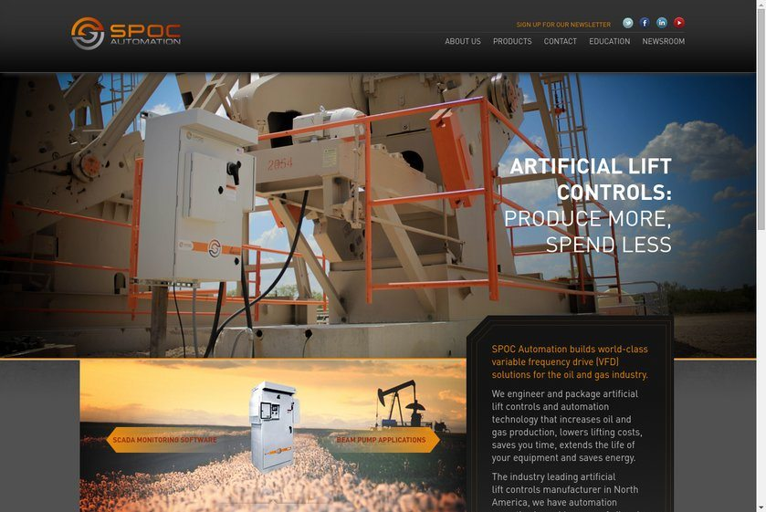 Spoc Automation Website