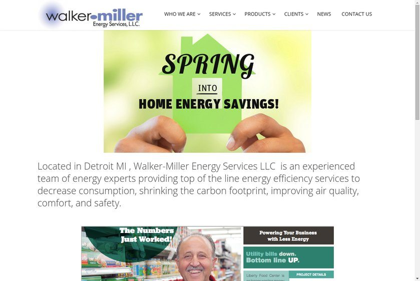 Walker-Miller Energy Services Website
