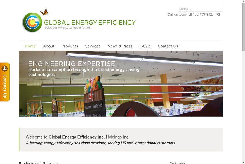 Global Energy Efficiency Website