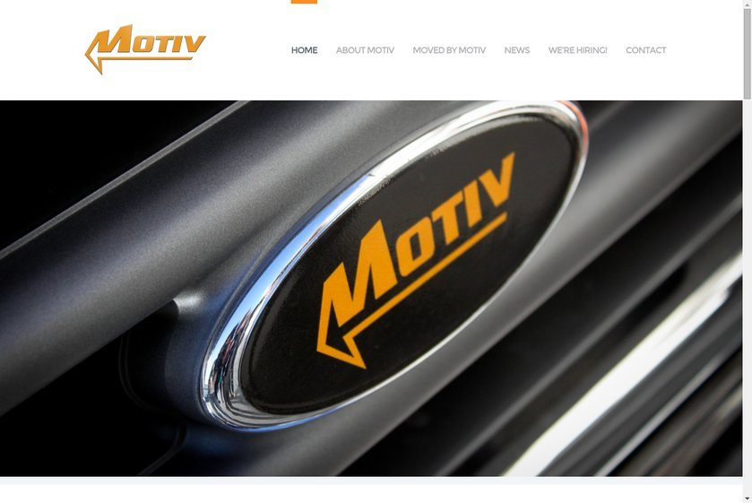 Motiv Power Systems Website