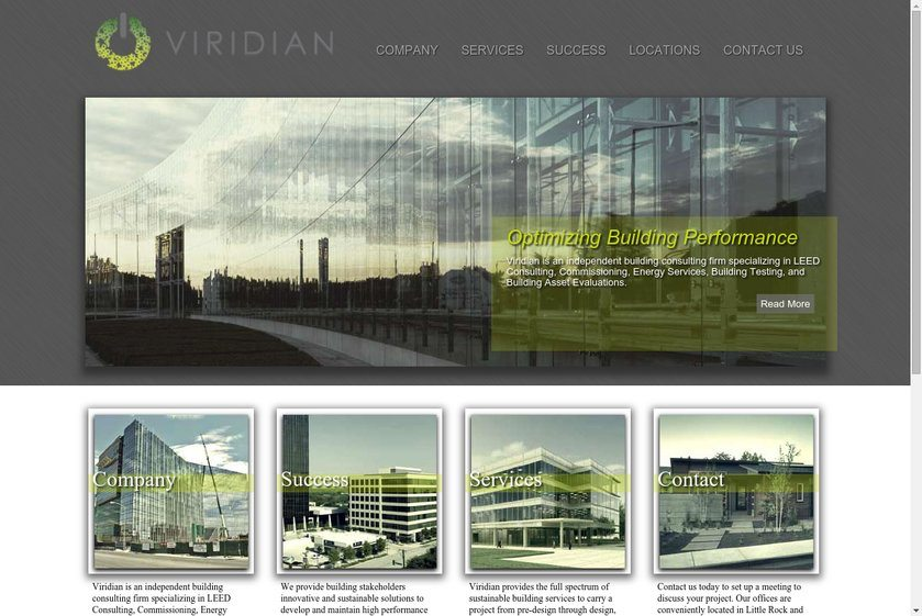 Viridian Website
